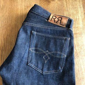 RRL new rigid selvedge jean